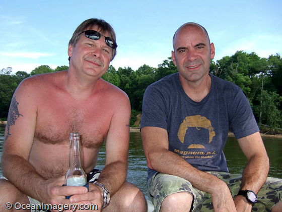 Me and Mike at Belmont Bay!